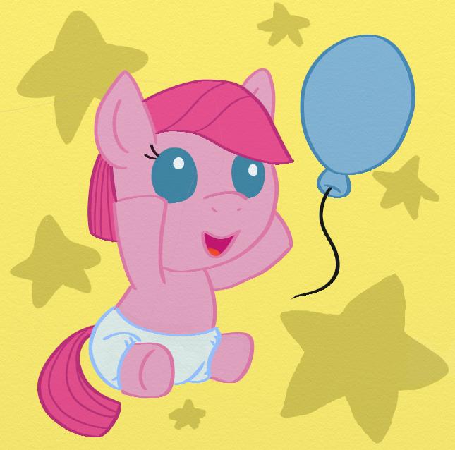 Baby Pinkie Pie by ChibiBeckyG on DeviantArt