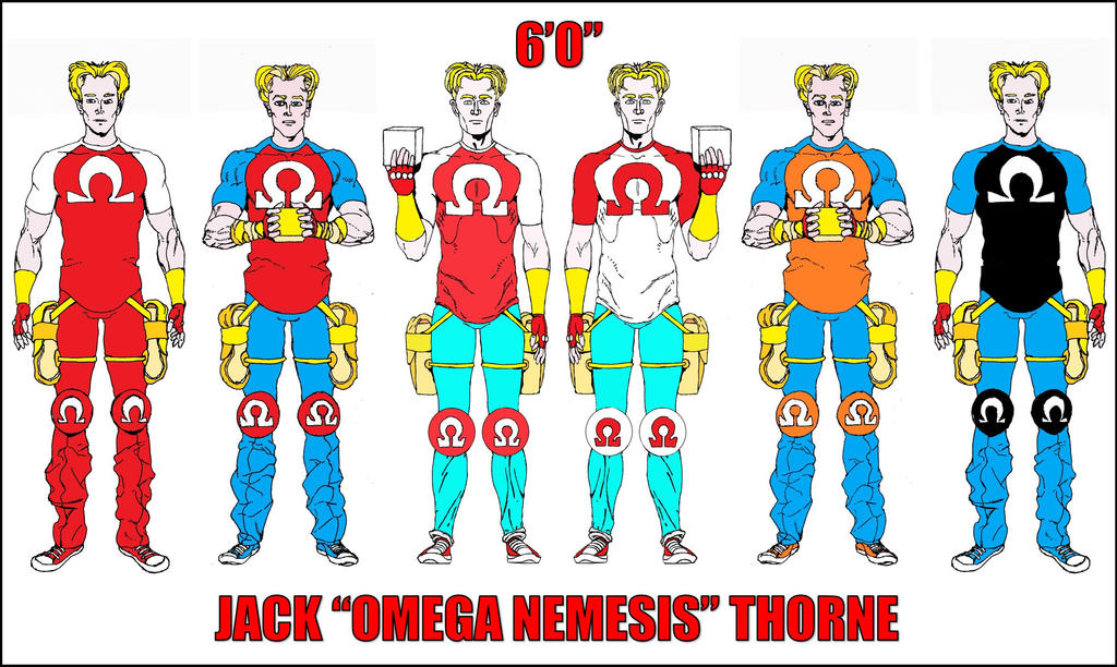 JACK OMEGA NEMESIS THORNE by WaffleJunkie