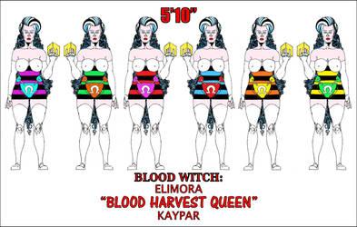 Blood Witch Elimora Blood Harvest Queen Kaypar by WaffleJunkie