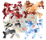 **Two left!** Canter Resales Batch by spottedfawns