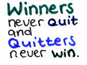 On Winners and Quitters by Hedwigs-art