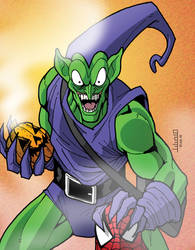 Green Goblin by julesjules