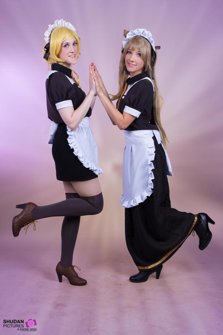 Eli Ayase and Kotori Minami by Lilouchann
