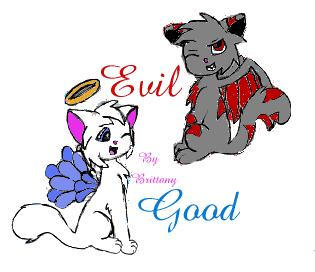 Good and Evil by Kaceygirl