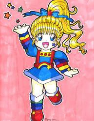 Rainbow Brite in Anime Style by gypsychilde