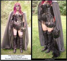 female leather armor by adventure-art