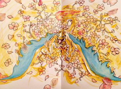 Cherry Blossom Heat Wave by krystal221