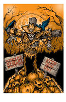 Scarecrow Ghoul by BigTony308