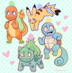 The Original Starters by Caryos