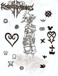 KH2 Sketch by ShuyinAlvasia