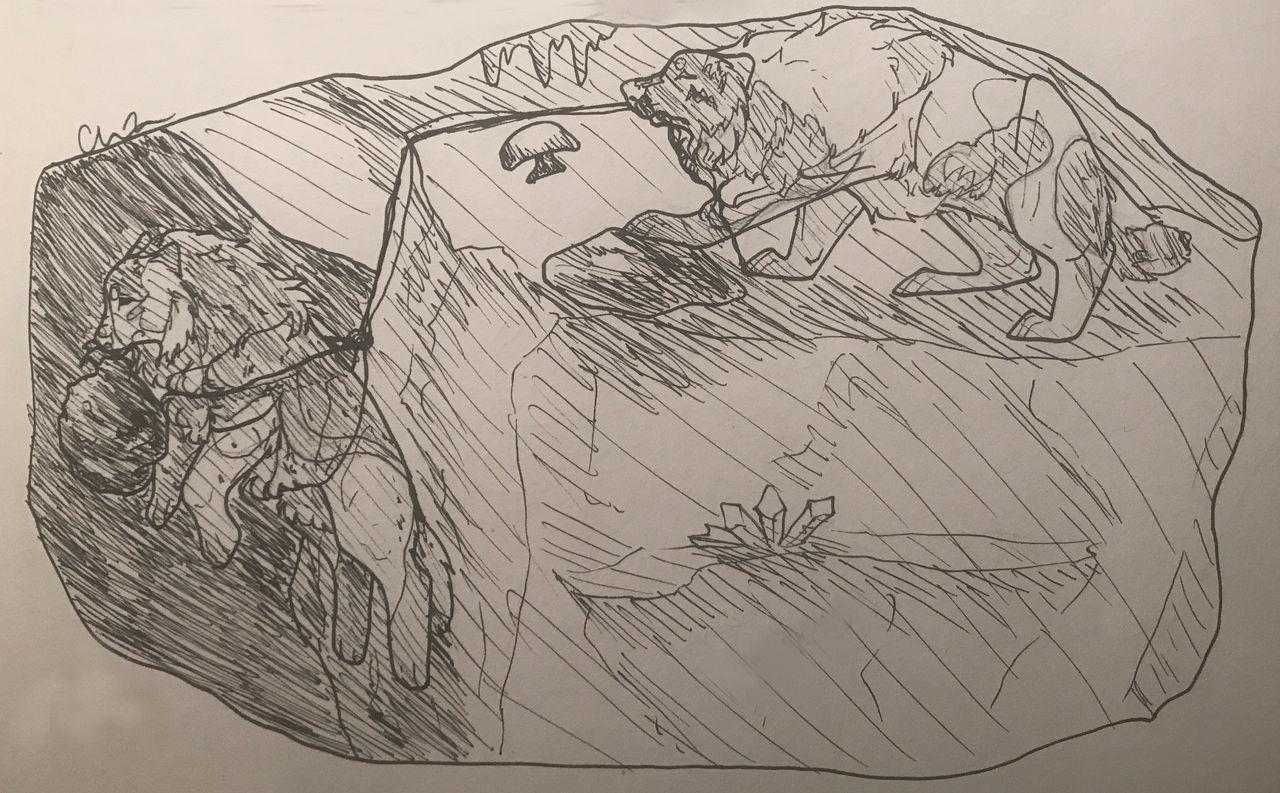 [caving] ArtemistheArtist22 by Losas