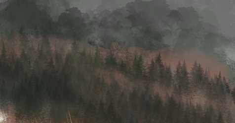 rough fire forest warmup