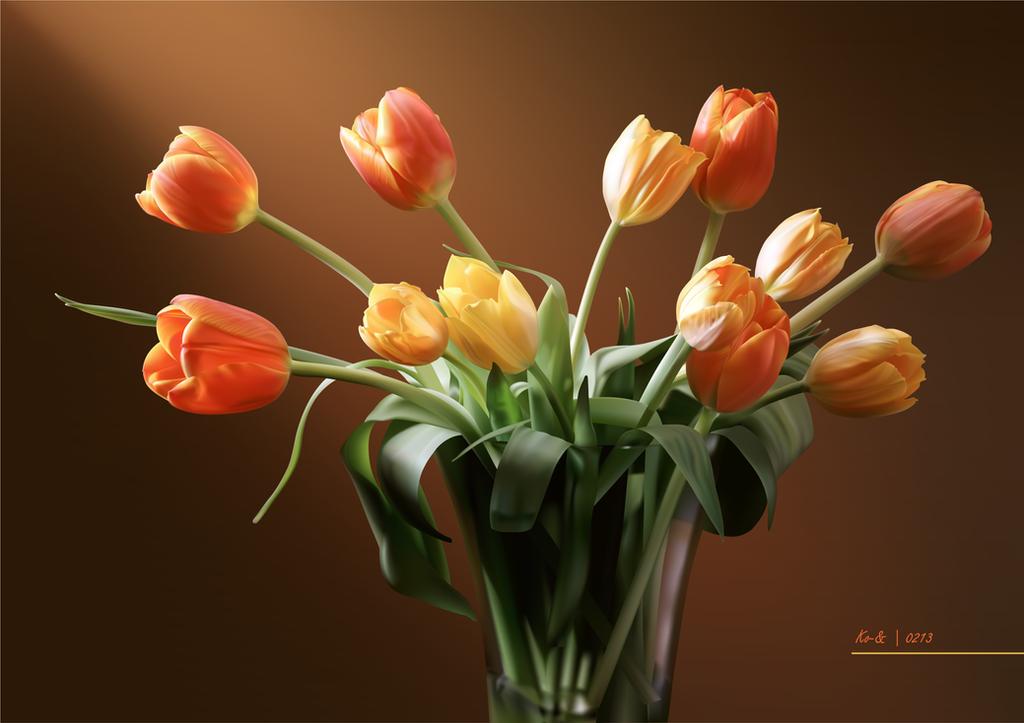 Tulip by Koen-Edward