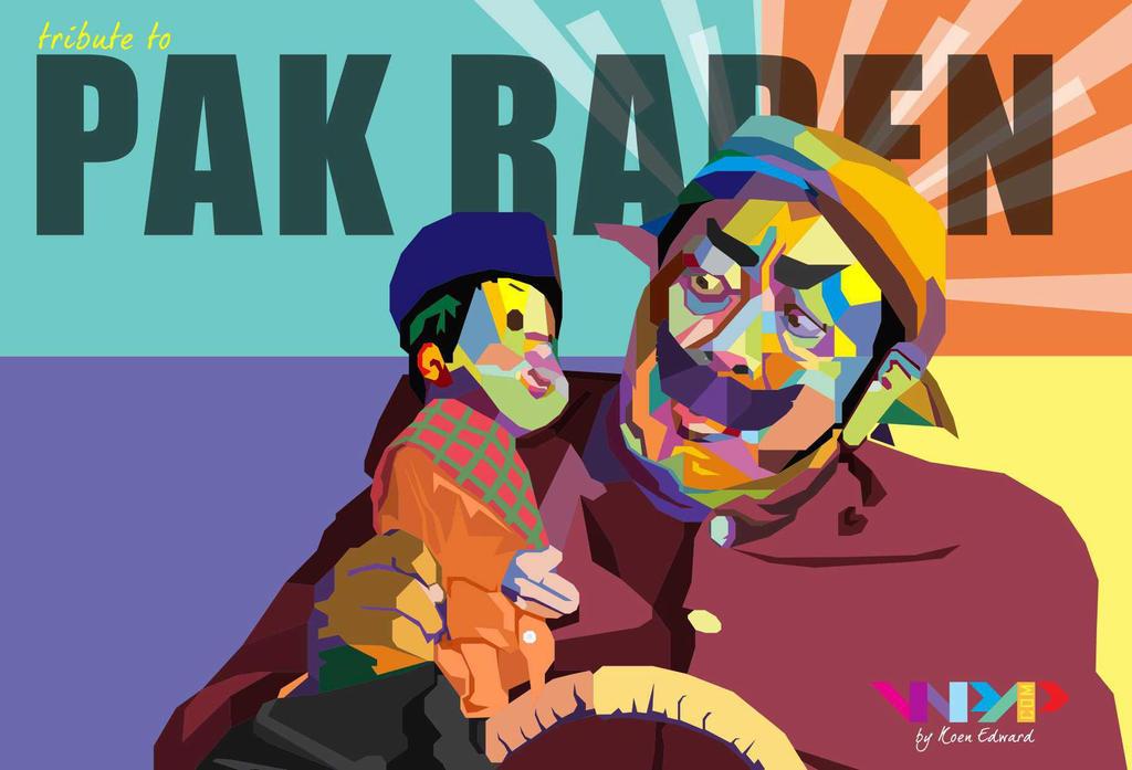 Pak Raden and Unyil by Koen-Edward