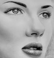 Scarlett Johansson Closeup by PersianBoy1991