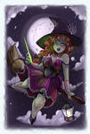 Cast a Spell On You Pinup