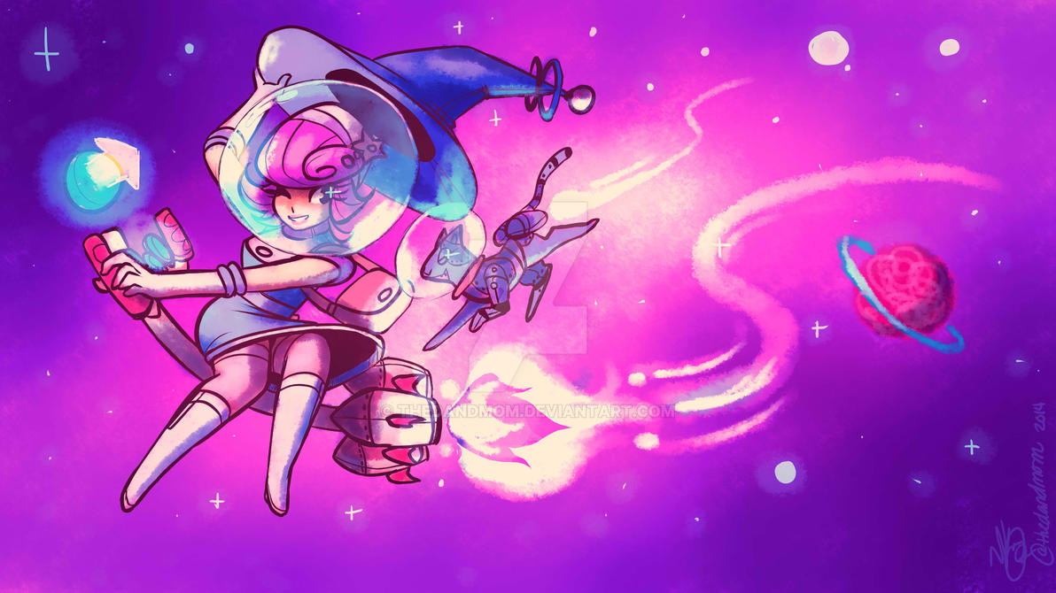 Space Witch by thedandmom