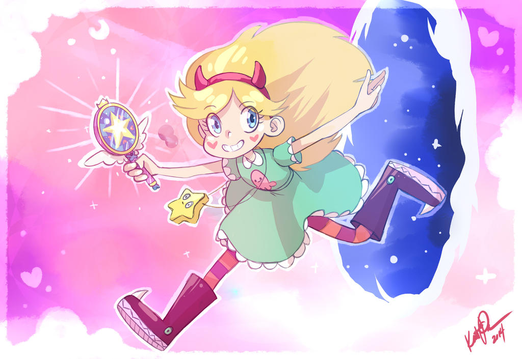 Star Butterfly by thedandmom