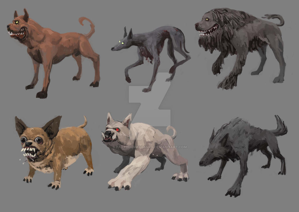Dogs by PartyLlamaGames