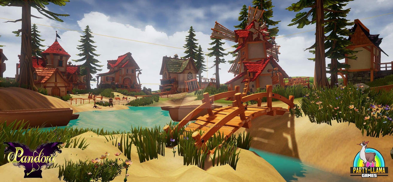 Kome Village #1 by PartyLlamaGames