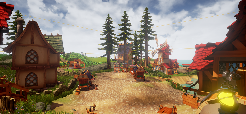 Kome Village #3 by PartyLlamaGames