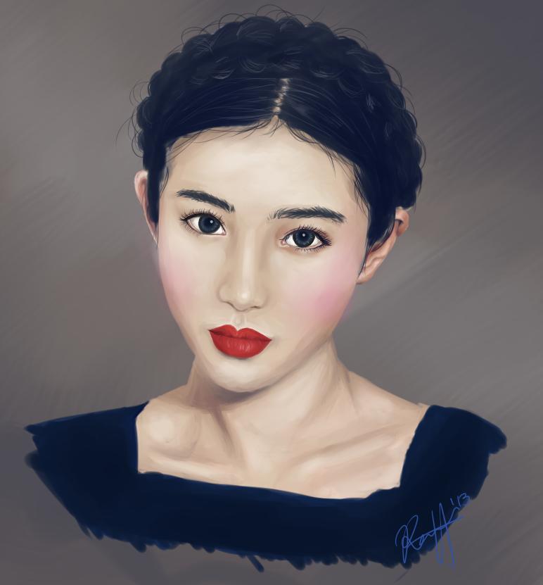 Zhang Xinyuan by kissmeoppa on DeviantArt