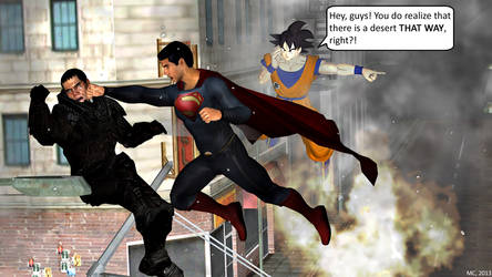 Goku's got a good point! by BulletproofMonkey
