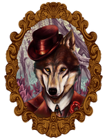 Big Bad Wolf by lasuricata