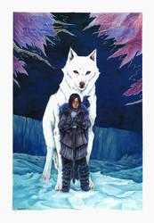 Jon Snow by lasuricata