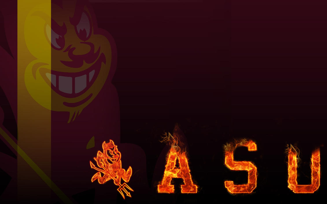 Asu Football Wallpaper: ASU Fire WP By DaNoTomorrow On DeviantArt
