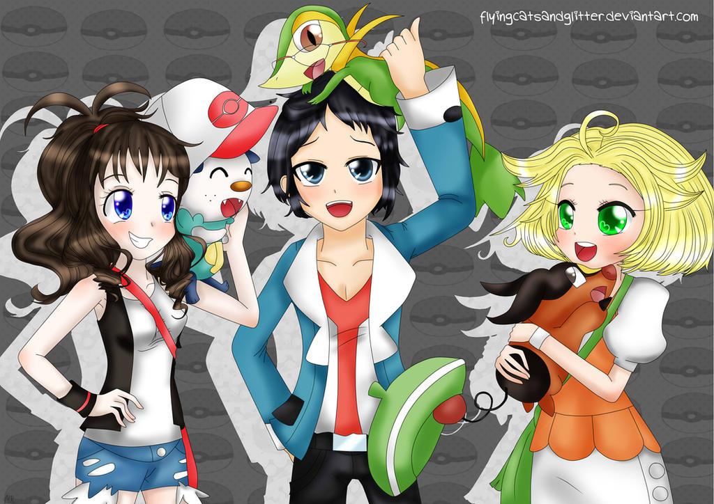Pokemon Black and White: Friends and Rivals by FlyingCatsandGlitter