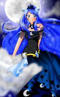 .: Princess of the Night ~ MLP FIM Gijinka :. by Monicherrie