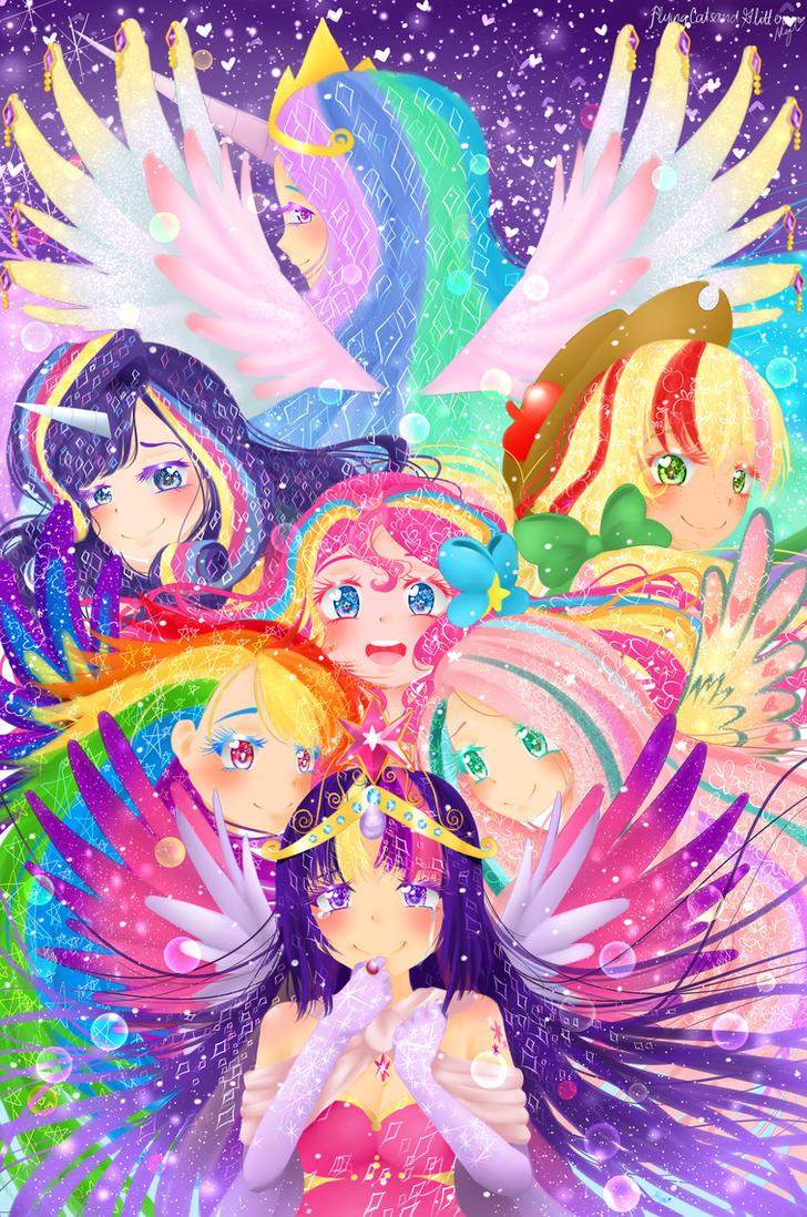 ** Friendship is Magic** by FlyingCatsandGlitter