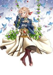 Violet Evergarden- Doll by Monicherrie