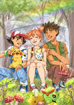 The Original Pokemon Trio