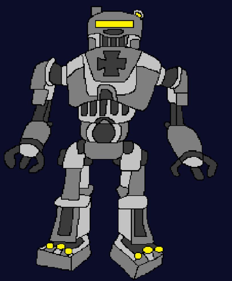 8 Bit Giant Robot Origins By Pvt Arturo On Deviantart