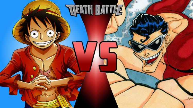 Death Battle Monkey D Luffy Vs Plastic Man By