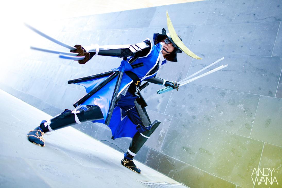 Date Masamune (Sengoku Basara) by AndyWana