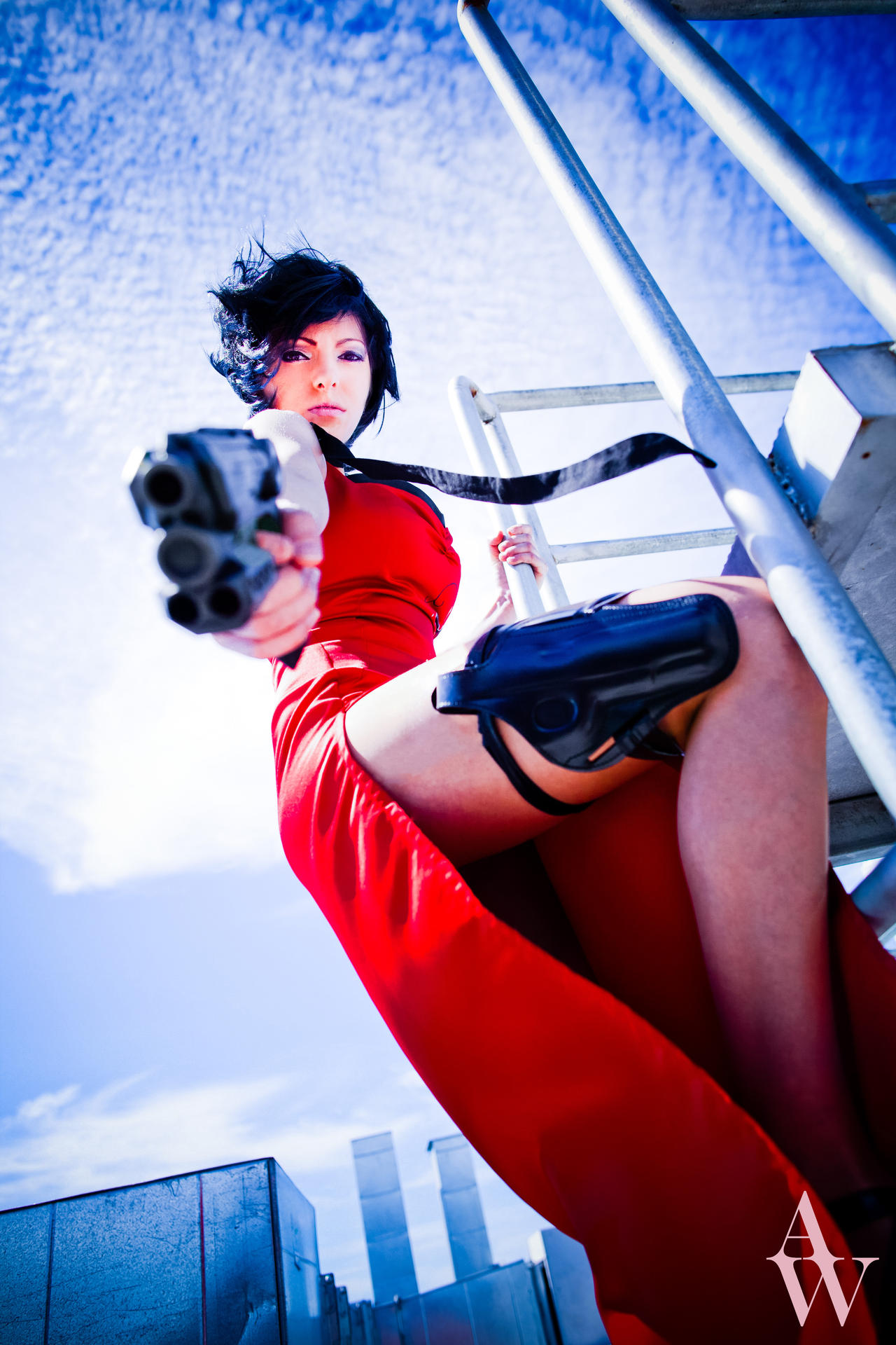 Ada Wong (Resident Evil) I by AndyWana