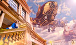 Daydreaming in the skies - Bioshock Infinite