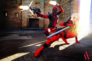 Bang! Bang! Bang! - Deadpool and Lady Deadpool
