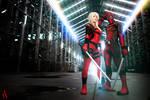 Katana Time! - Lady Deadpool and Deadpool