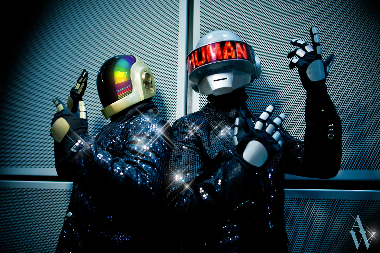 Daft Punk by AndyWana