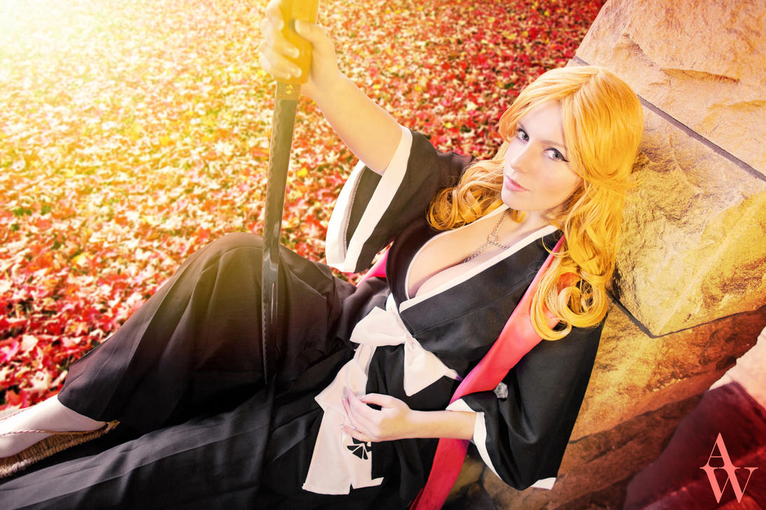 Autumn Leaves - Rangiku Matsumoto (Bleach) by AndyWana