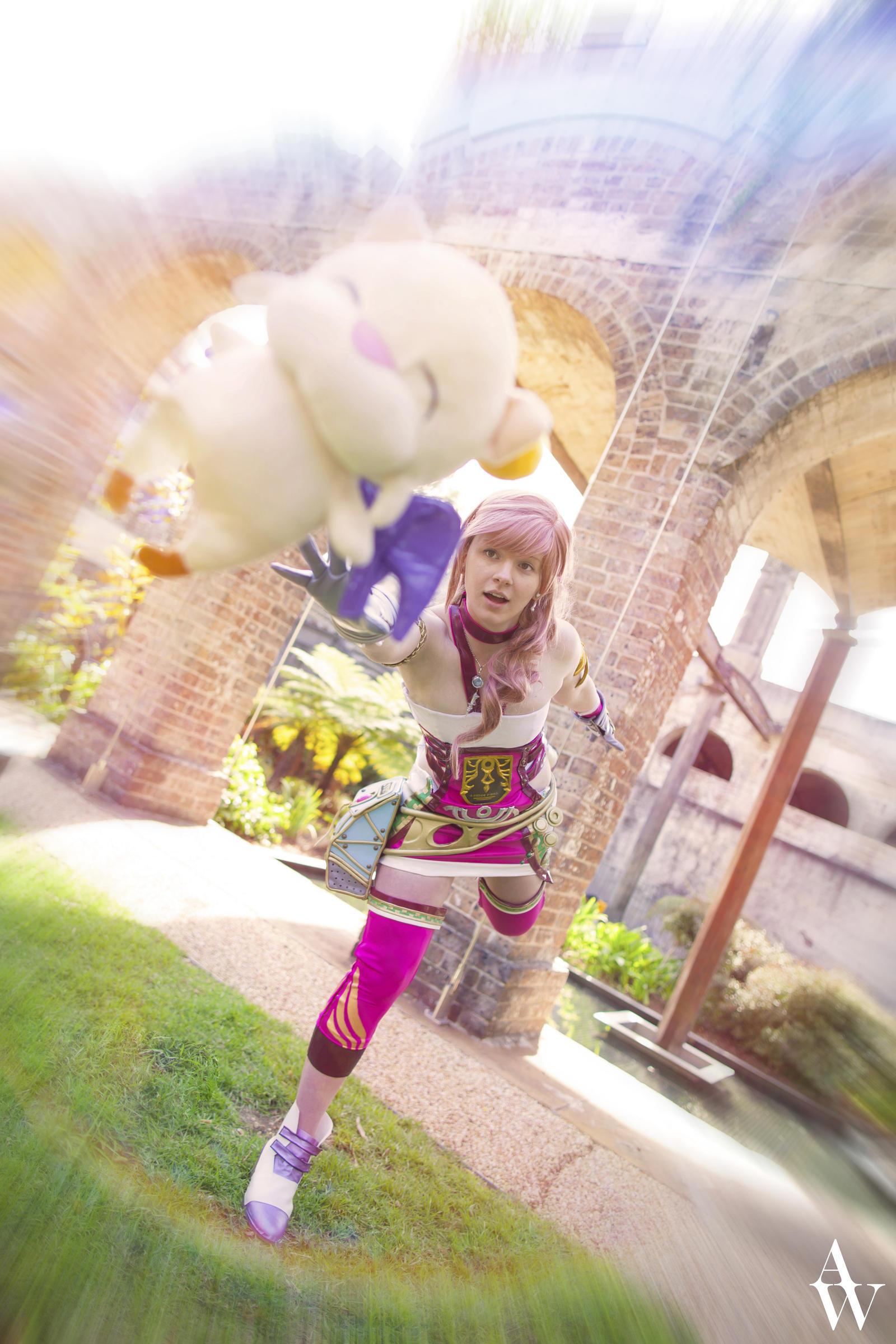 Kupoo!~ Serah Farron (Final Fantasy XIII-2) by AndyWana