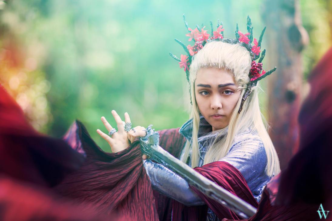 Thranduil (The Elvenking - The Hobbit) II by AndyWana
