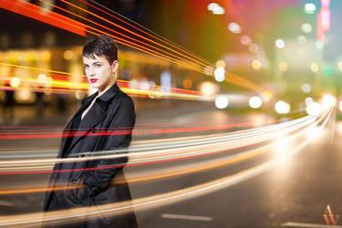Light Trails - Modern Day Audrey Hepburn