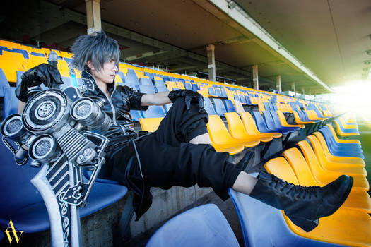 Noctis from Final Fantasy XV by Alan
