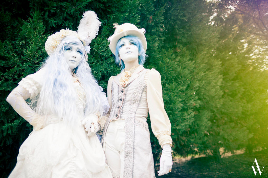 Shironuri Fashion by Alice C and Sasha W by AndyWana