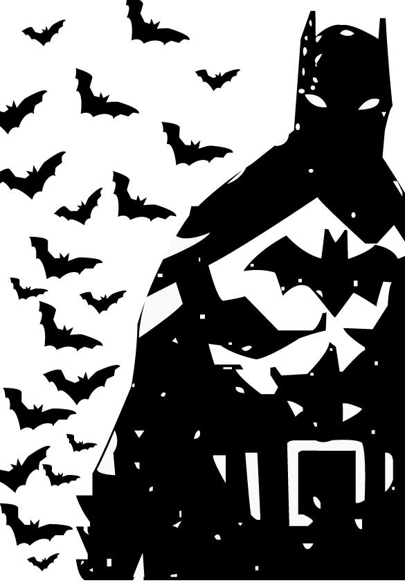 batman black and white by ulyssesparker on deviantart batman vs superman black and white logo batman logo images black and white